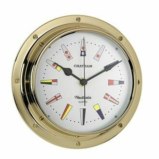 Nauticalia Chatham Code Flag Clock (QuickFix)