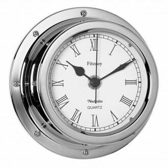 Nauticalia Fitzroy Clock (QuickFix) Chrome