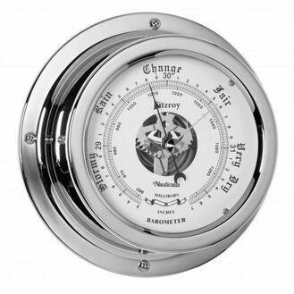 Nauticalia Fitzroy Barometer (QuickFix) Chrome