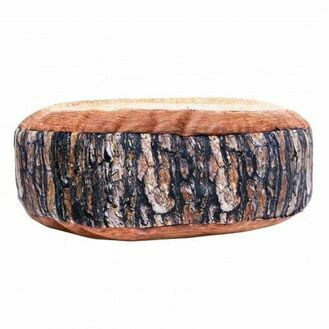 Wood Slice Cushion, 40cm