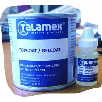 Talamex Topcoat Transparent 100Grams + 6Grams Hardener