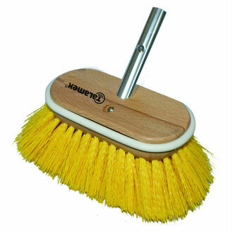 "Talamex Deluxe Deck Brush Head 8"" Yellow"