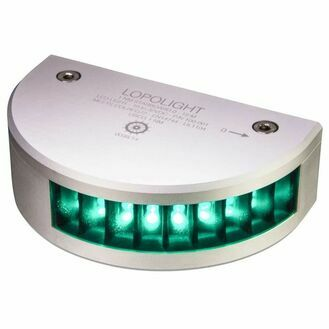 Lopolight - 2nm 225° White. Masthead w/decklight w/0.7 metre cables