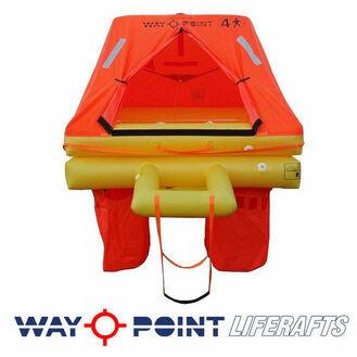 Waypoint Ocean Elite Liferaft - Valise 4,6 or 8 man