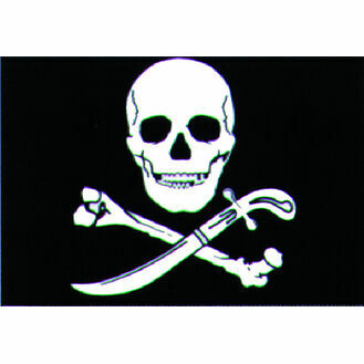 Talamex Pirate Flag (30cm x 45cm)