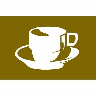 Talamex Coffee Flag (30cm x 45cm)