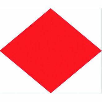 Talamex Signal Flag F 30cm x 36cm