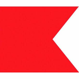 Talamex Signal Flag B (30cm x 36cm)