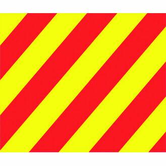 Talamex Signal Flag Y (30cm x 36cm)