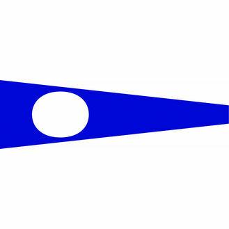 Talamex Signal Flag 30cm x 36cm Nr 2