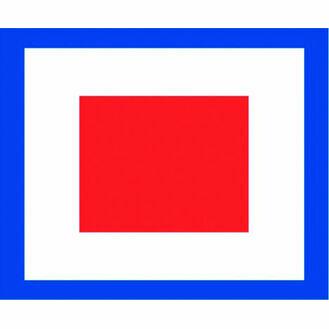 Talamex Signal Flag W (30cm x 36cm)