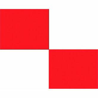 Talamex Signal Flag U 30cm x 36cm