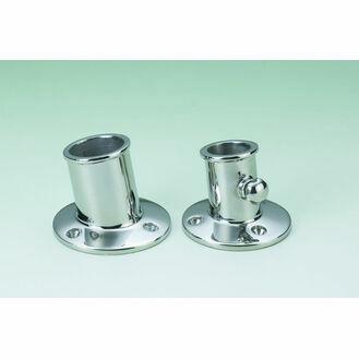 Talamex Pole Socket Chromed Brass 19mm