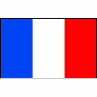 Talamex France Flag (20cm x 30cm)