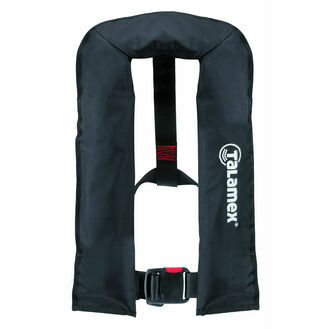 Talamex Auto Waist Belt Lifejacket 150N in Black