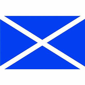 Talamex St Andrew Scotland Courtesy Flag