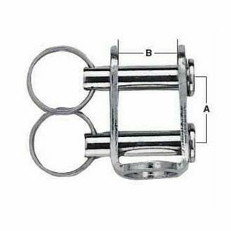 Harken 8 mm Stainless Steel U-Adaptor