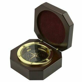 Nauticalia Miniature Compass In Wooden Box