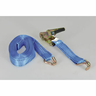 Talamex Tie-Down With Ratchet & J-Hook 38 mm 8.0M