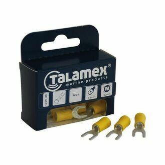 Talamex Cable Fork U (4mm) - Blue