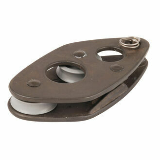 Allen 25mm Vang Block: Fiddle V-Cleat