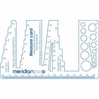 Meridian Zero Multi Measure (pipe, rope & wire gauge)