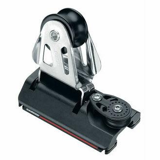Harken 27 mm ESP Adjusterustable CB Car Sheave, 2:1
