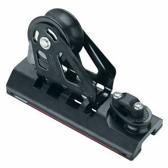 Harken 32 mm Adjustable CB Car Sheave, Dead End, 3:1