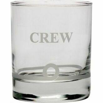 Nauticalia Glass Whisky Tumblers - 5 Styles