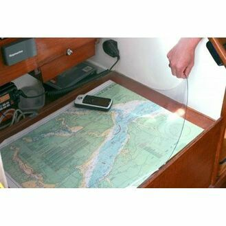Nauticalia PVC Admiralty/Nautical Chart Cover - 1m x 1m