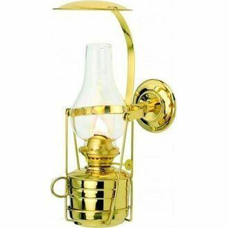 Nauticalia Brass Fastnet (gimballed) Oil Lamp - 32cm