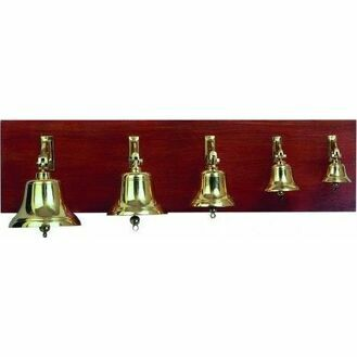 "Nauticalia Brass Ship's Bell - 7"""
