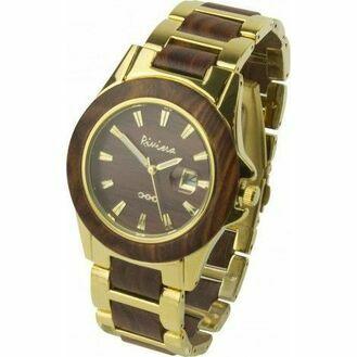 Nauticalia Gold Riviera Watch