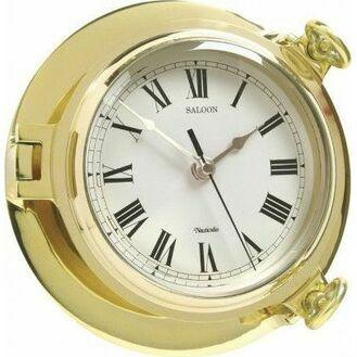 Nauticalia Classic Brass Saloon Clock