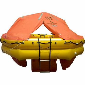 Ocean Safety UltraLite 10 Person Valise Liferaft