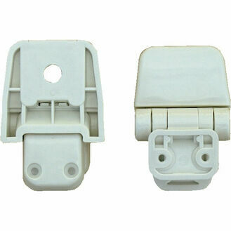 Jabsco 29098-2000 Hinge Set - For Wooden Seat/Lid Assy