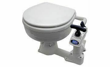 Jabsco Manual Twist & Lock Compact Bowl Toilet Spares - 29090-5000