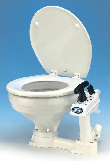 Jabsco Manual Twist & Lock Toilet With Regular Bowl Spares - 29120-3000