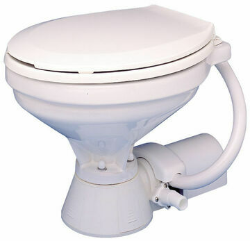 Jabsco 12V Electric Compact Bowl Toilet Spares - 37010-0090