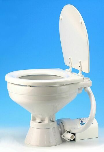 Jabsco Compact Bowl 24V Electric Toilet Spares - 37010-3094