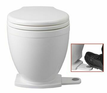 Jabsco Lite Flush 12V With Foot Switch Spares - 58500-0012