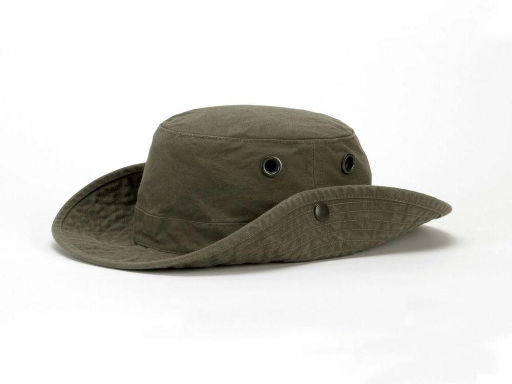 c10a3b3e703 Tilley T3 Medium Brim Snap-Up    The Wanderer   Hat - Vintage Olive ...