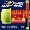 Fire Safety Stick - 50 seconds extinguishing time additional 4