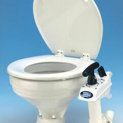 Jabsco Manual Twist & Lock Toilet With Regular Bowl Spares - 29120-3000