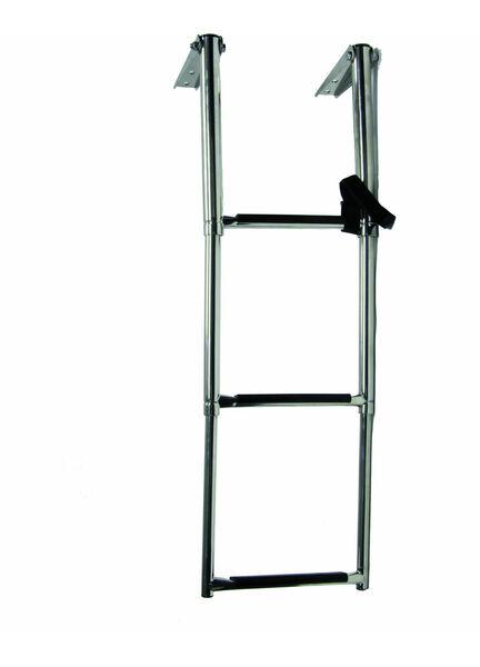 Talamex Steel Telescopic Ladder Platform - 4 Step