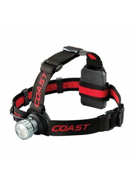 Coast HL45 400 Lumen Head Torch - Black/Red