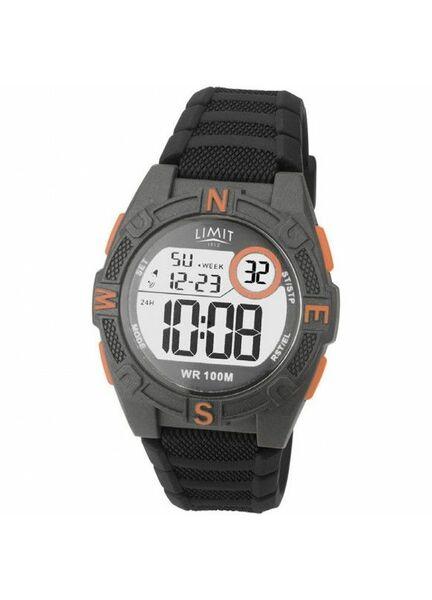 Limit Countdown Watch - Grey/Orange