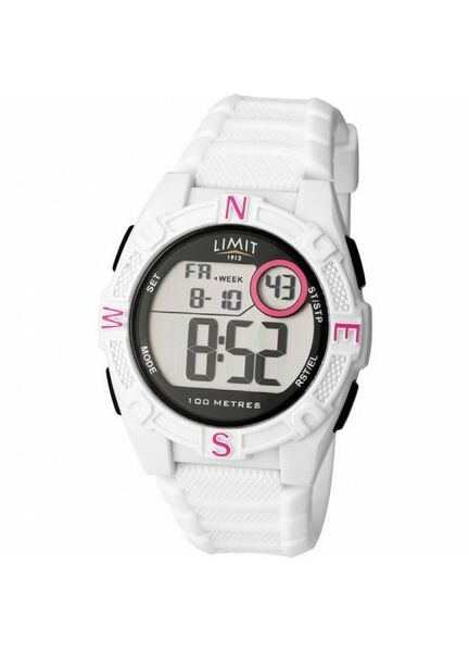 Limit Countdown Watch - White/Red