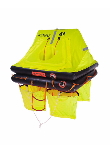 Seago Sea Cruiser ISO 9650-2 Liferaft - 8Man valise