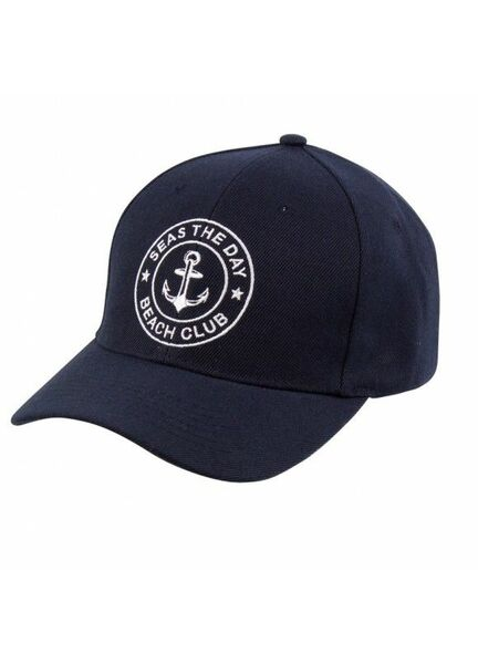 "Nauticalia ""Seas the Day"" Cap"